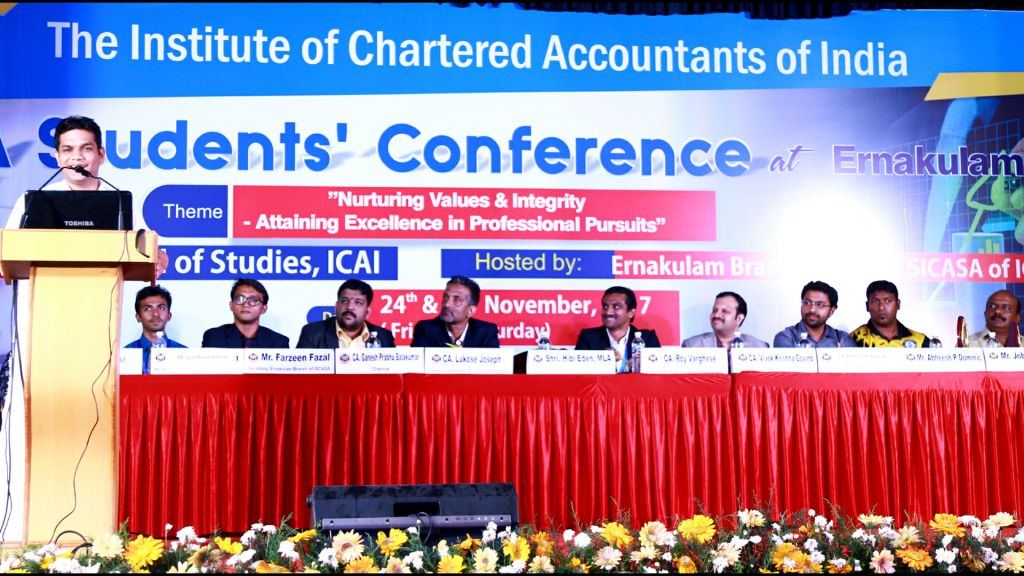 ICAI CA STUDENTS' CONFERENCE CONCLUDED